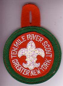 Green Felt Ten Mile River Scout Patch