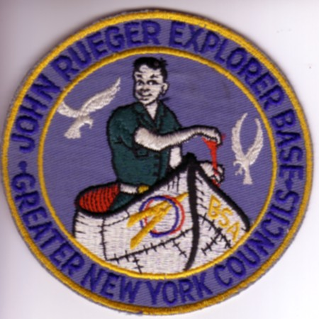 John Rueger Explorer Base Jacket Patch - Canoe