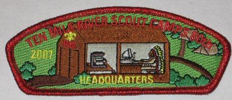 Ten Mile River 80th Anniversary - Headquarters HQ2007X1