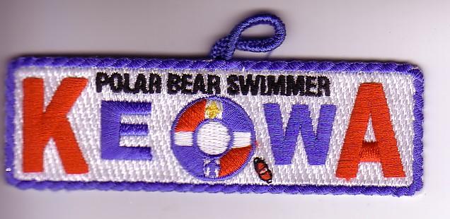 Camp Keowa 2007 Polar Bear Swimmer - KEO2007X2