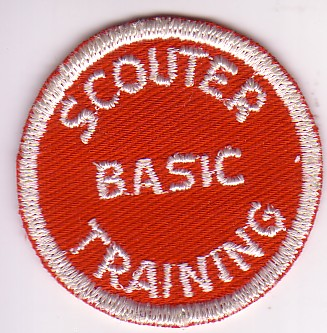 Scouter Basic Training Round