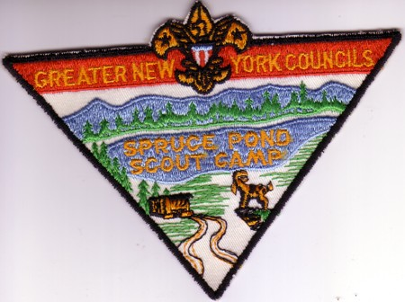 Spruce Pond Jacket Patch