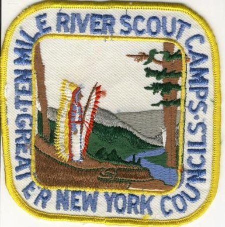 Ten Mile River 1976 Jacket Patch