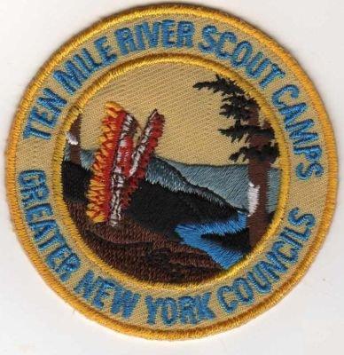 Circa 1998 TMR Scout Scout Patch