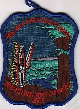 2005 Ten Mile River Pocket Patch