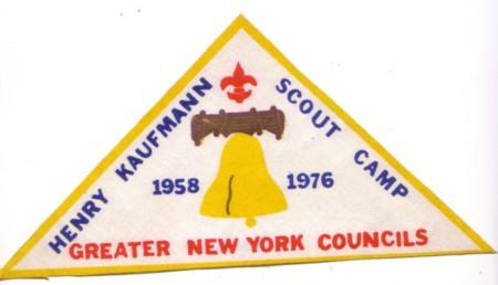 Henry Kaufmann Bicentennial Patch 1958 -1976