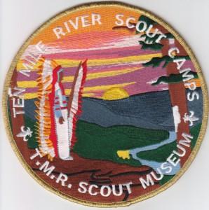 TMR Scout Museum undated Jacket Patch