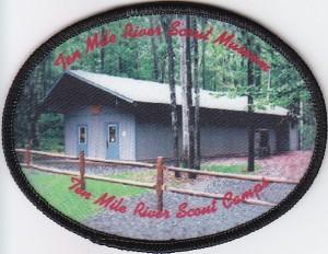 TMR Scout Museum 2006 undated Jacket Patch