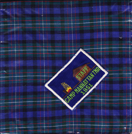 TMR Camp Manhattan Staff Neckerchief 1951