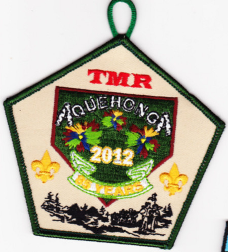 Camp Aquehonga 2012 Pocket Patch