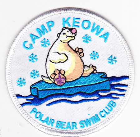 Camp Keowa Polar Bear Swim Club undated Pocket Patch