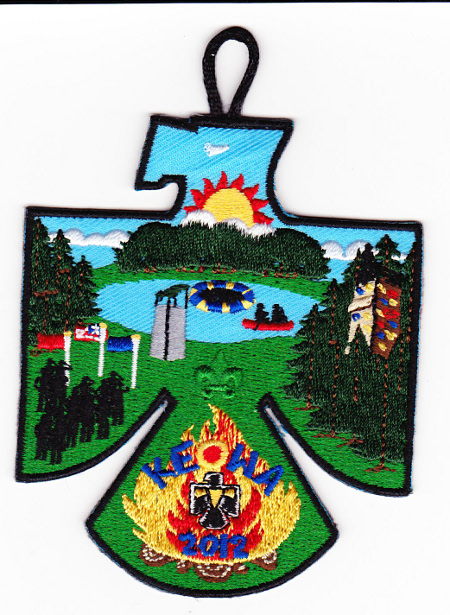 Camp Keowa 2012 Pocket Patch