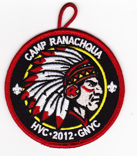 Camp Ranachqua 2012 Pocket Patch
