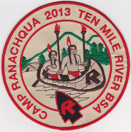 Camp Ranachqua 2013 Jacket Patch