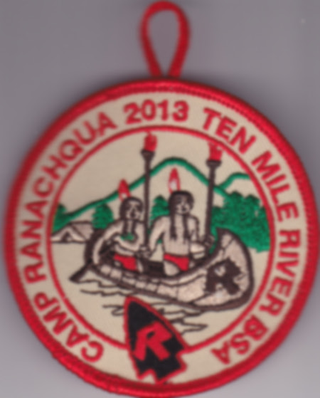 Camp Ranachqua 2013 Pocket Patch