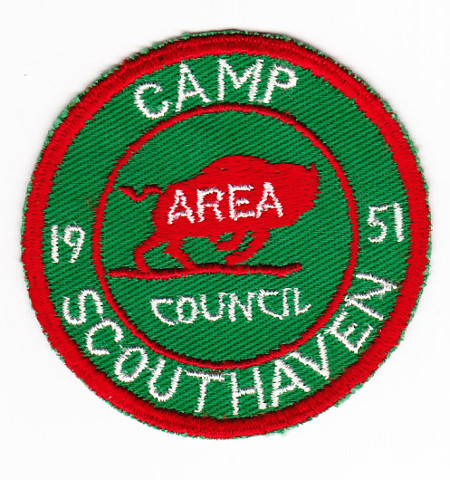 Camp Scouthaven 1951 Pocket Patch