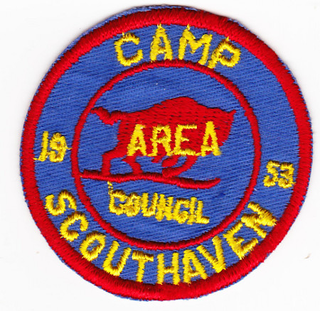 Camp Scouthaven 1953 Pocket Patch