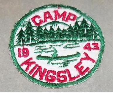 Camp Kingsley 1943 Pocket Patch