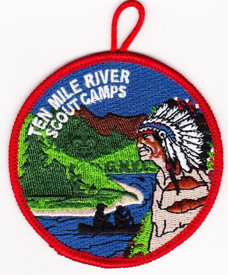 Ten Mile River Scout Camps 2013 Pocket Patch