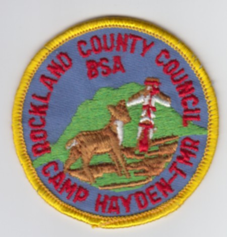 Camp Hayden Circa 1980 Pocket Patch