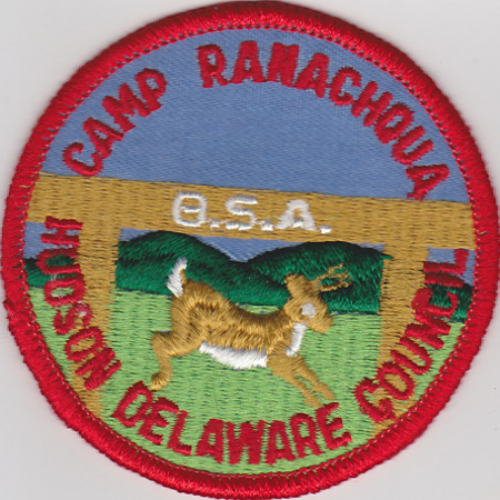 Undated Camp Ranachqua Patch #3