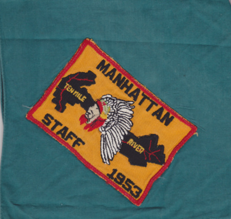 TMR Camp Manhattan Staff Neckerchief 1953
