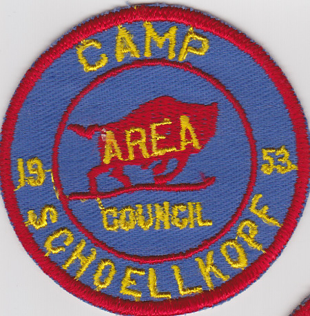 Camp Schoellkopf 1953 Pocket Patch