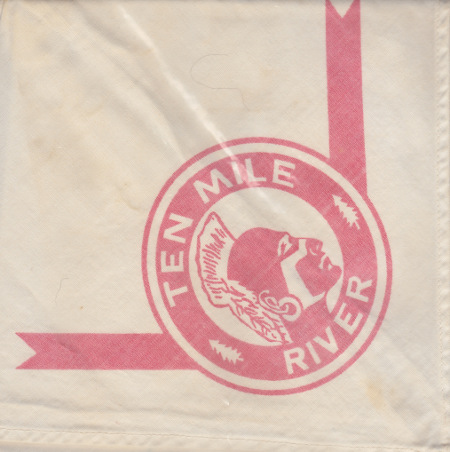 Ten Mile River Light Red Neckerchief