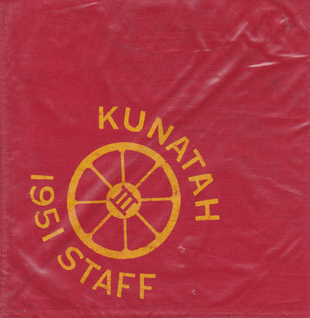 Camp Kunatah 1951 Staff Neckerchief