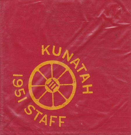 Camp Kunatah 1951 Staff Neckerchief