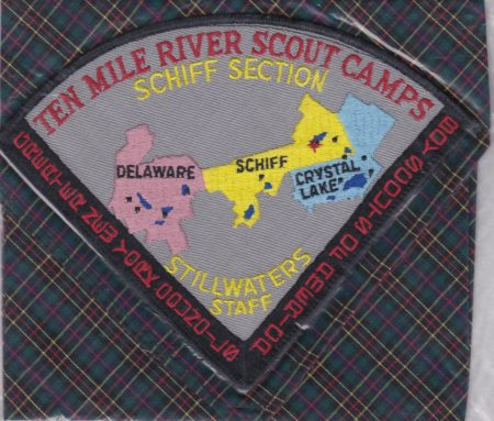 Camp Stillwaters 1960 Staff Neckerchief