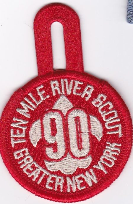 TMR 90th Anniversary Pocket Patch