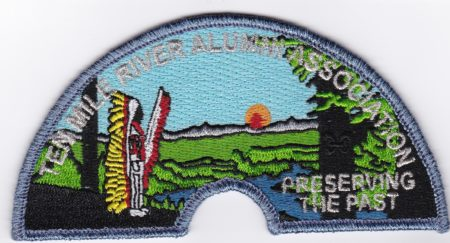 Ten Mile River Alumni Association Pocket Patch