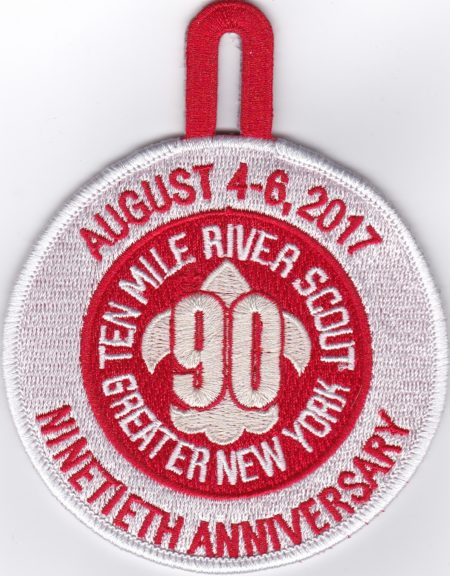 TMR 90th Anniversary Event Pocket Patch
