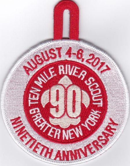TMR 90th Anniversary Event Pocket Patch