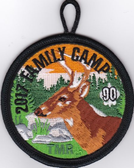 2017 Family Camp Pocket Patch