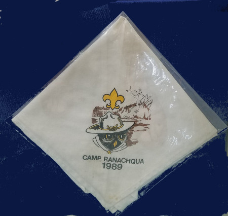 Camp Ranachqua 1989 Neckerchief