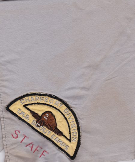 1954 Camp Chappegat Staff Neckerchief