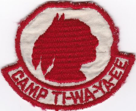 Camp Ti-Wa-Ya-Ee 1940's Pocket Patch