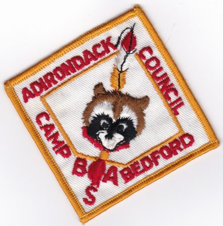 Undated Camp Bedford Diamond Pocket Patch