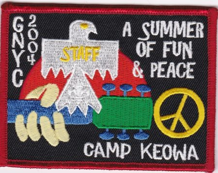 Camp Keowa 2004 Staff Pocket Patch