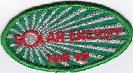 Ten Mile River Solar Energy Patch 1979