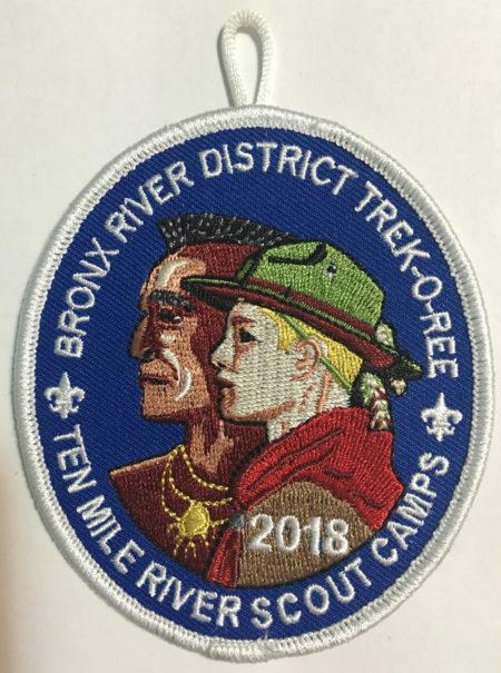 2018 Bronx Trek-O-Ree Pocket Patch