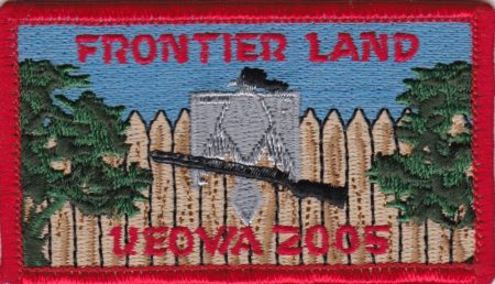 Camp Keowa 2005 Frontier Land Patch