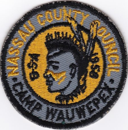 Camp Wauwepex 1958 Pocket Patch