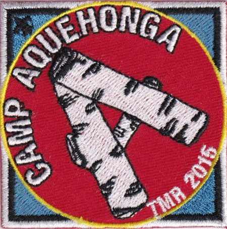 Camp Aquehonga 2015 Pocket Patch