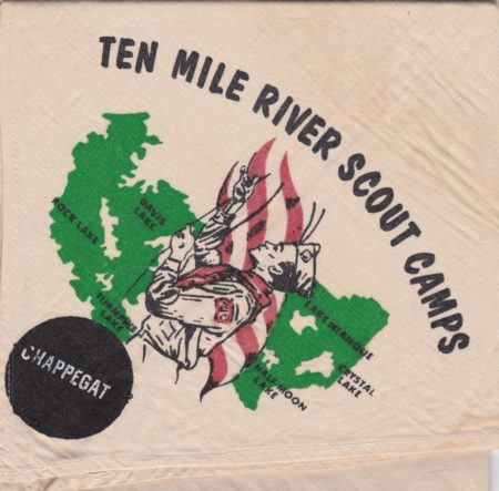 Ten Mile River Scout Camps Chappegat Neckerchief
