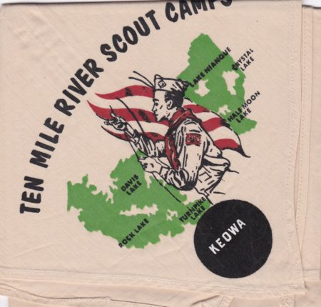 Ten Mile River Scout Camps Keowa Neckerchief