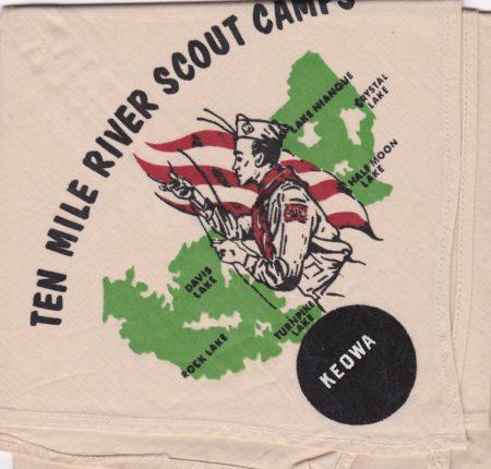 Ten Mile River Scout Camps Keowa Neckerchief