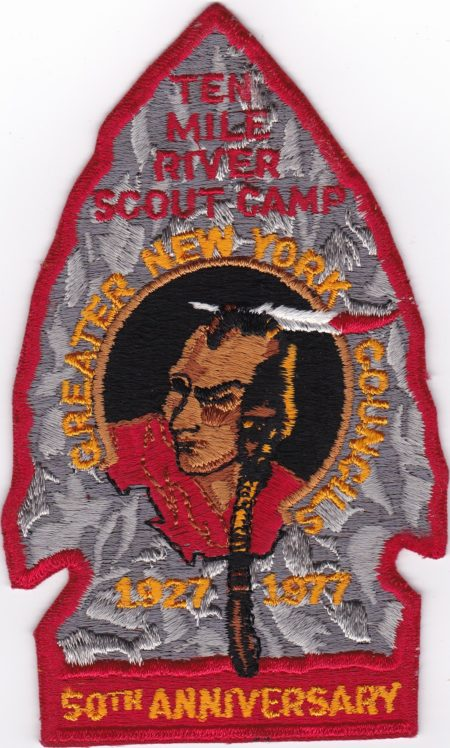 TMR 1977 50th Anniversary Jacket Patch